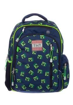 "Kids Minecraft AOP 17"" Dome Backpack"