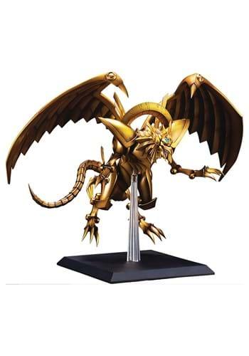 YU-GI-OH THE WINGED DRAGON OF RA EGYPTIAN GOD STATUE