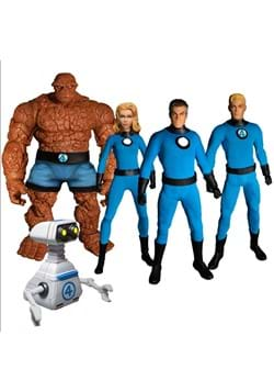One:12 Collective Fantastic Four – Deluxe Steel Boxed Set