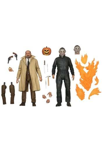 Halloween 2 Michael Myers & Dr. Loomis Figures