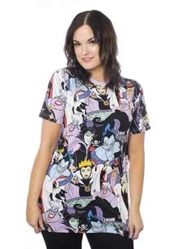 Unisex Disney Villains Aop T-Shirts Alt 2