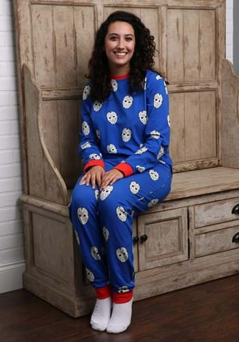 Friday the 13th Pajama Set for Adults-1-0