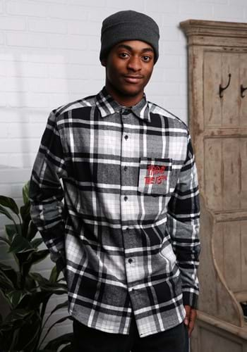 Unisex Friday the 13th Flannel-1