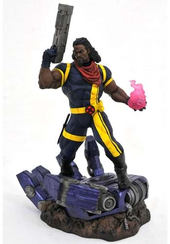 Marvel Premier Collection X-Men Action Bishop Statue