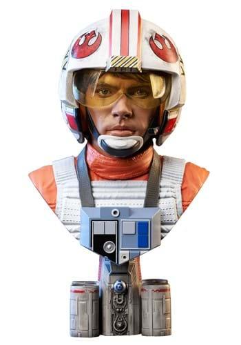 Star Wars A New Hope L3D Pilot Luke Skywalker 1/2 Scale Bust