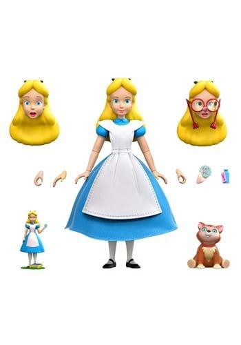 Disney Ultimates Alice in Wonderland Alice Action
