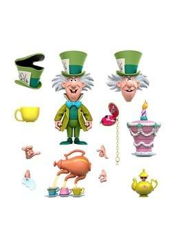 Disney Ultimates Alice Wonderland Mad Hatter Actio