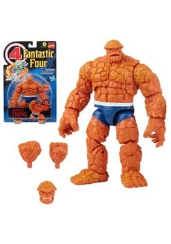 Fantastic Four Retro Marvel Legends Thing