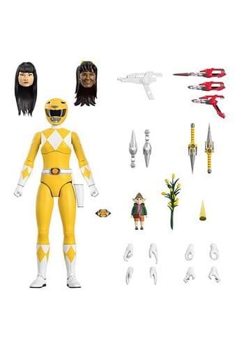Power Rangers Mighty Morphin Yellow Ranger