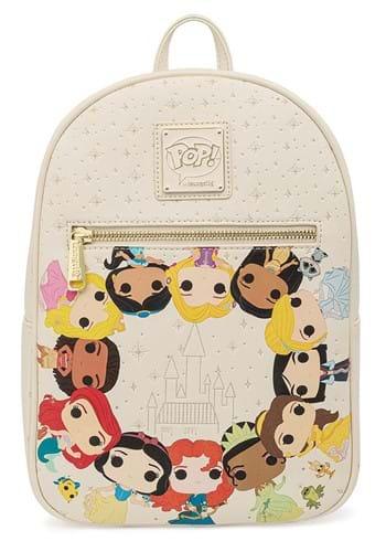 Pop By Loungefly Disney Princess Circles Mini Back