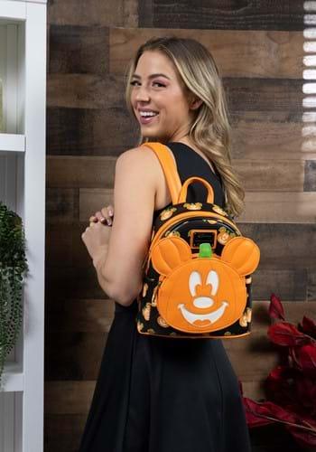 Loungefly Disney Mickey-O-Lantern Mini Backpack