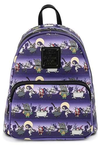 Loungefly NBC Halloween Line Mini Backpack