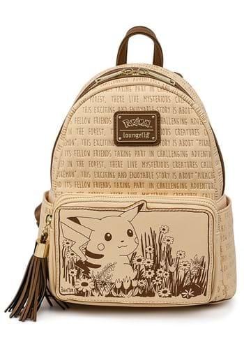 Loungefly Pokemon Sepia Pikachu Mini Backpack