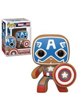 POP Marvel: Holiday- Gingerbread Captain America