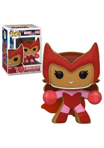 POP Marvel: Holiday- Gingerbread Scarlet Witch