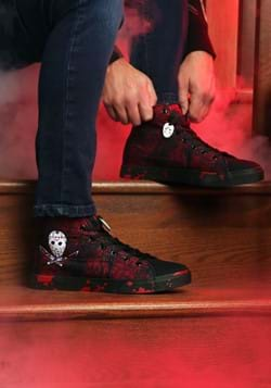 Friday the 13th Jason High Top Adult Sneakers