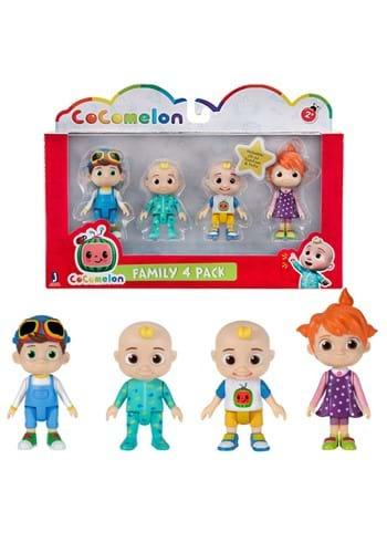 CoComelon 4 Figure Family Pack Set
