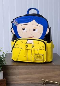 Loungefly Laika Coraline Raincoat Cosplay Mini Backpack