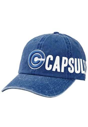 Dragon Ball Z Capsule Corp. Side Art Pigment Dye Hat