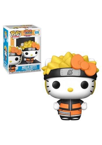 POP Animation Sanrio x Naruto Hello Kitty