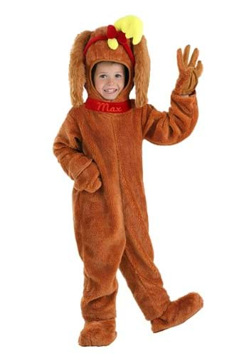 Dr. Seuss Toddler Max Costume