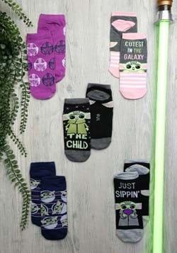 Ladies 5 Pack The Child Socks-0