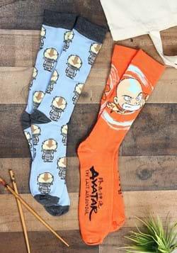 Mens 2 Pack Avatar Appa Socks