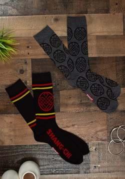 Mens 2 Pack Marvel Shang-Chi Sock