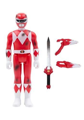 Power Rangers Red Ranger ReAction Figure