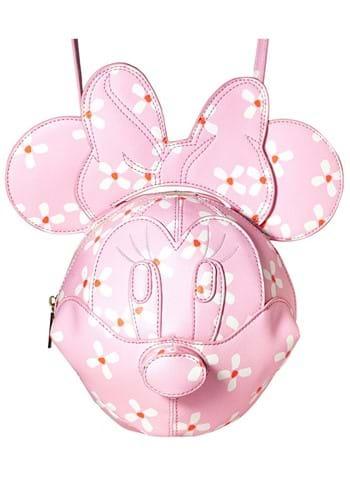 Danielle Nicole 3-D Minnie Head Crossbody Bag