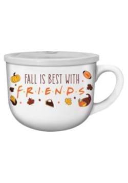 Friends Fall Is Best Soup Mug