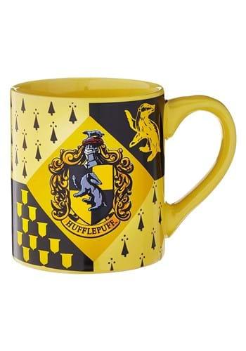 14oz Hufflepuff Crest Ceramic Mug