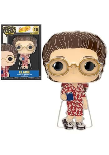 Funko POP Pins: Seinfeld- Elaine