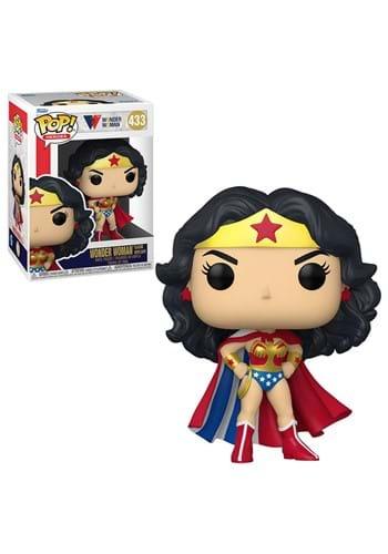 POP Heroes: WW 80th- Wonder Woman (Classic w/Cape)