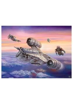 Star Wars Mandalorian The Escort 550 Piece Jigsaw Puzzle