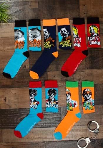 DC Comics Suicide Squad 5 Pair Crew Socks