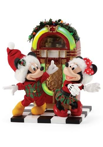 Department 56 Mickey and Minnie Jingle Bell Swing