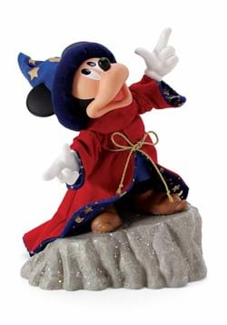 Department 56 Sorcerer Mickey Fantasia Statue