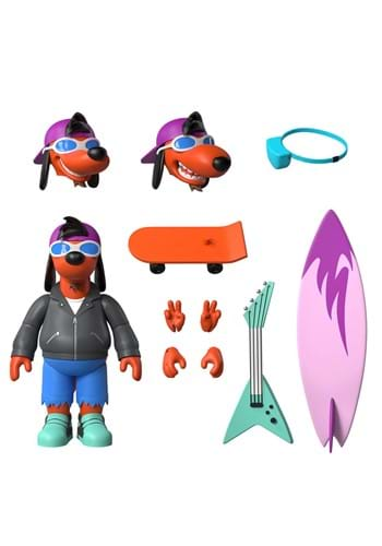 The Simpsons Ultimates Poochie 7-Inch Action Figur