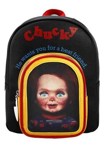 Chucky Toy Box Clear Pocket Mini Backpack