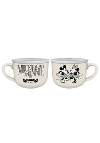 Disney Mickey and Minnie So Sweet 20oz Soup Mug with Lid