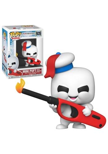 POP Movies: Ghostbusters: Afterlife- Mini Puft wit
