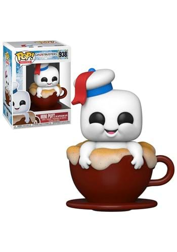 POP Movies: Ghostbusters: After- Mini Puft in Capp