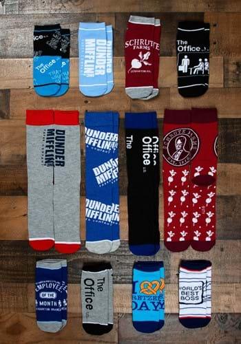 The Office 12 Days of Socks Box Set