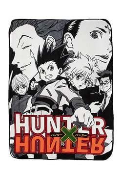 Hunter X Hunter Digital Fleece Throw Blanket