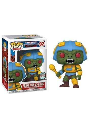 POP Vinyl: Masters of the Universe- Snake Man-At-Arms Figure