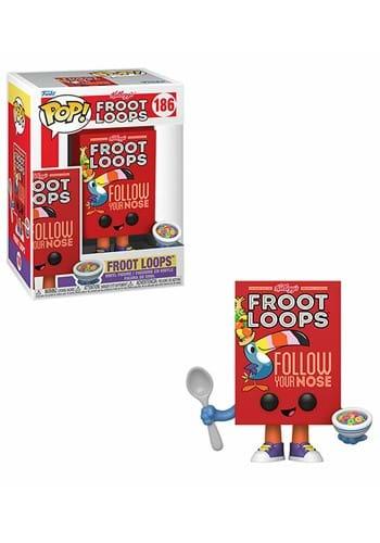 POP Vinyl: Kelloggs- Froot Loops Cereal Box