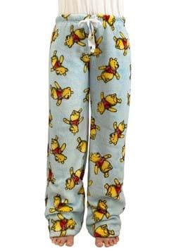 Pooh Sketch Toss Womens Plush Sleep Pants