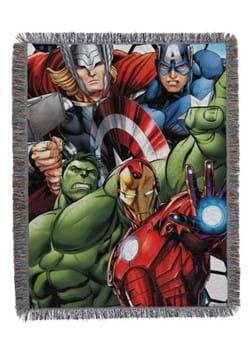 Avengers Best Team Tapestry Throw