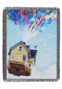 UP - WATERCOLOR ADVENTURE TAPESTRY THROW